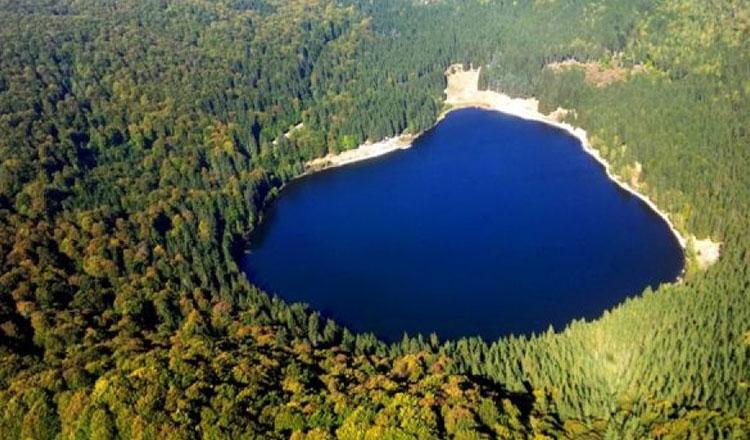 lac vulcanic din România